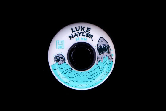 Image of Luke Naylor pro wheel