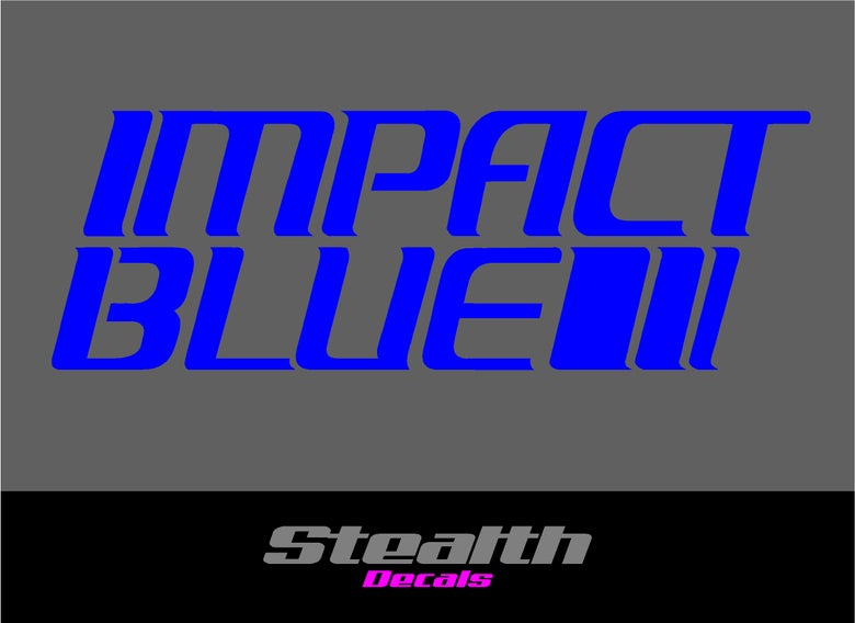 Image of IMPACT BLUE