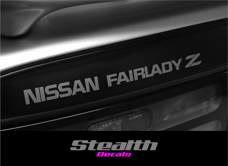 Image of Nissan 300ZX Fairlady Z Rear hatch decal