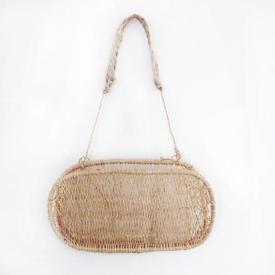 Image of Huacal Handmade Tree Bark Hanging Basket