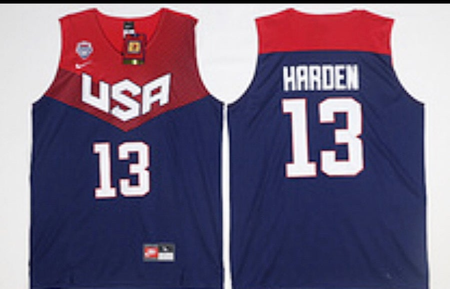 "Image of Team USA ""James Harden"" Jersey"