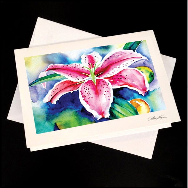 Image of Lily 5-Pack Greeting Card Set