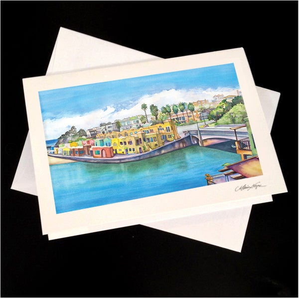 Image of Venetian View 5-Pack Greeting Card Set