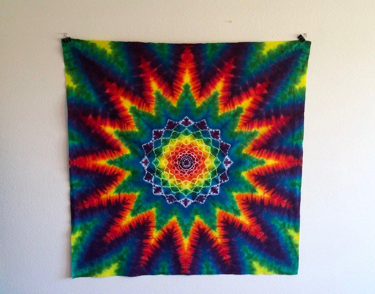 Mandala Tie Dye Tapestry #1!