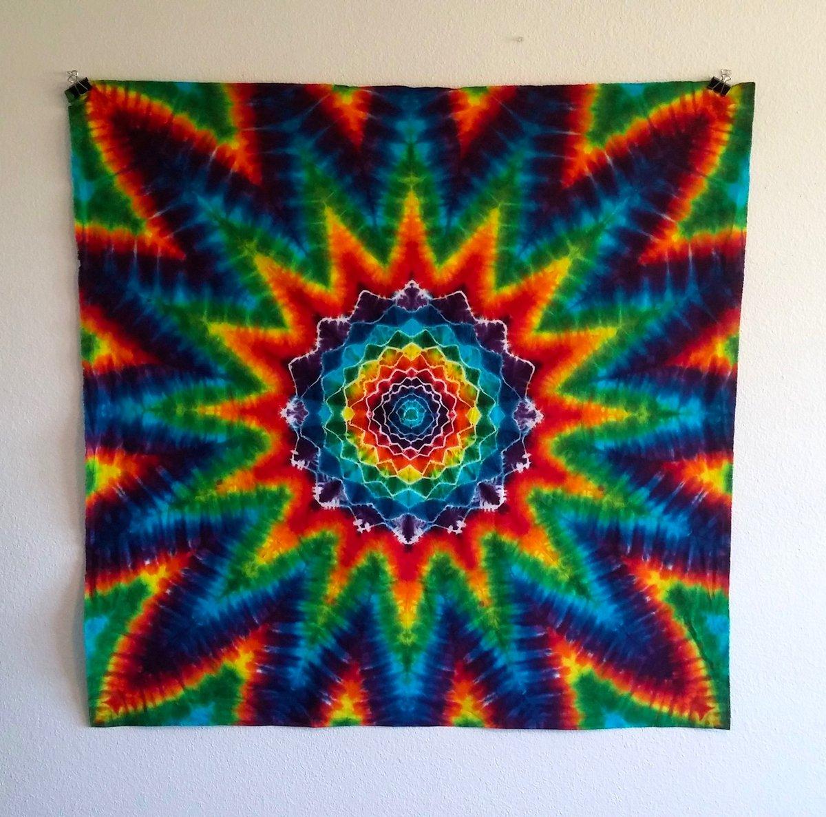 Mandala Tie Dye Tapestry #2!