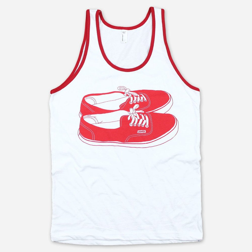 Shoes Tank (White)