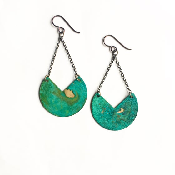 Image of Patina Earrings