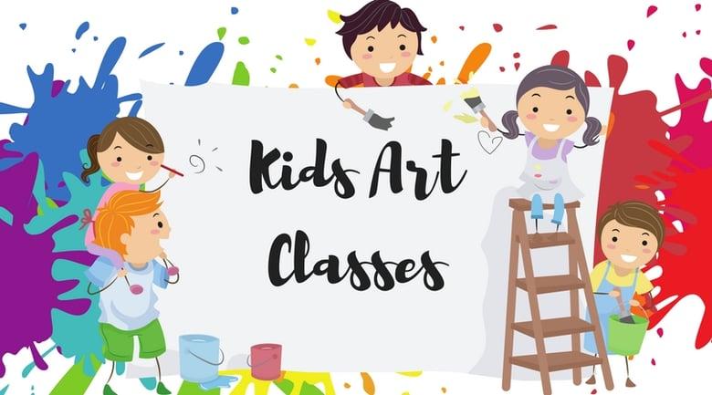 Image of Children's Art Class 6 CLASS PASS