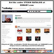 Image of Get the entire STEMM CATALOG at CDBABY.com