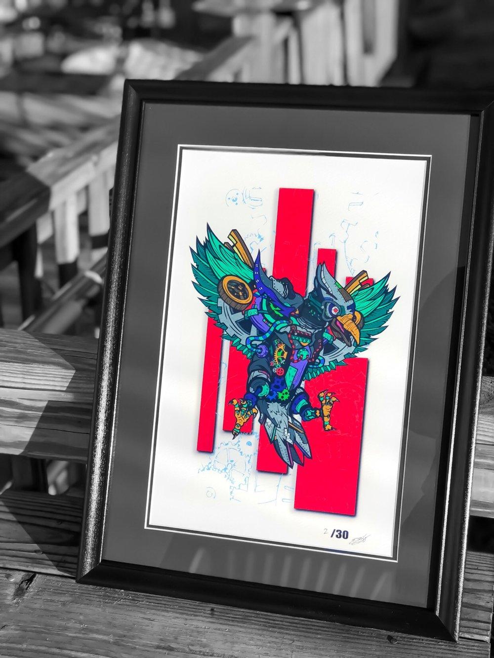 "Image of Cogsworth 11x17"" Giclée Premium Art Print"