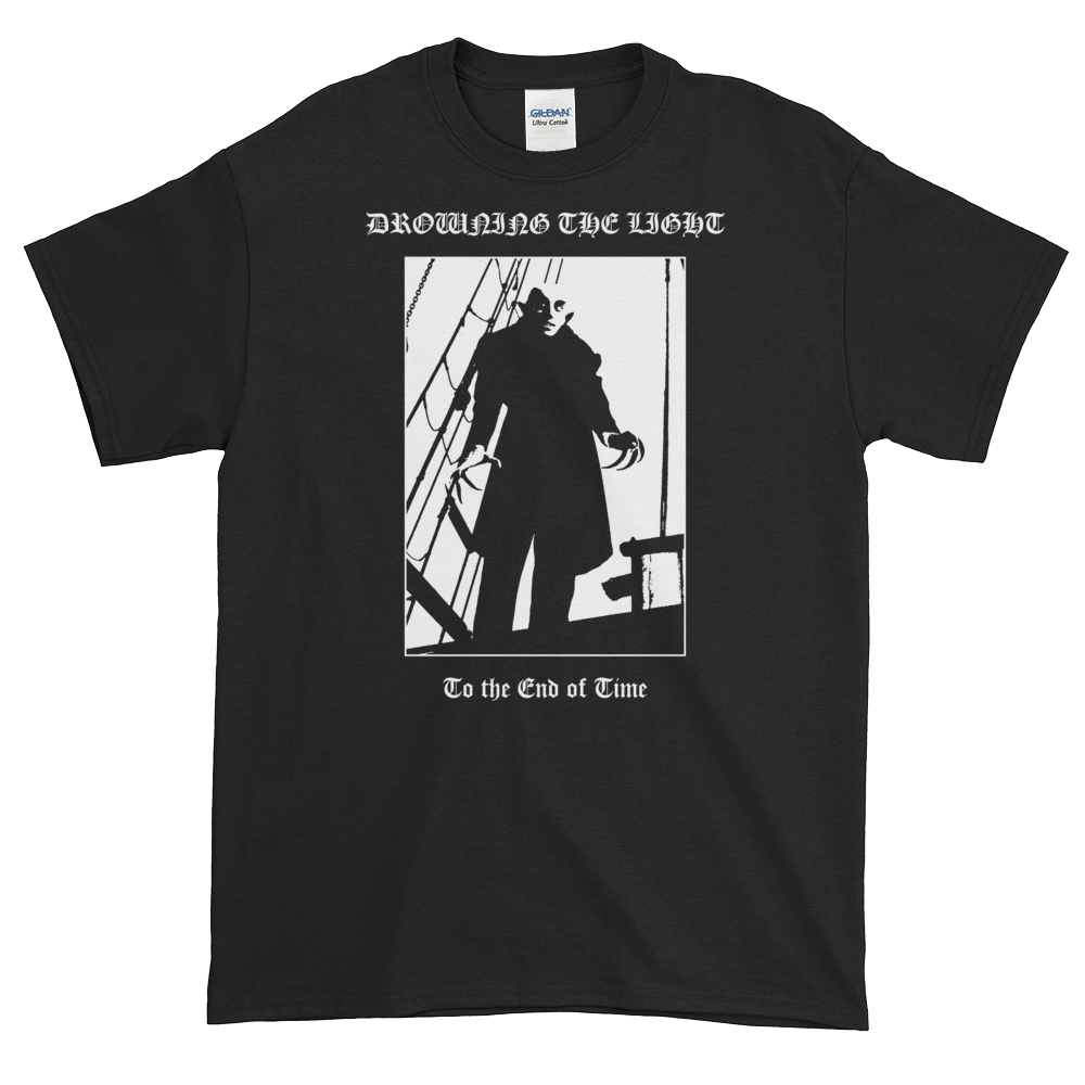 "Image of Drowning the Light - ""To the End of Time"" shirt"