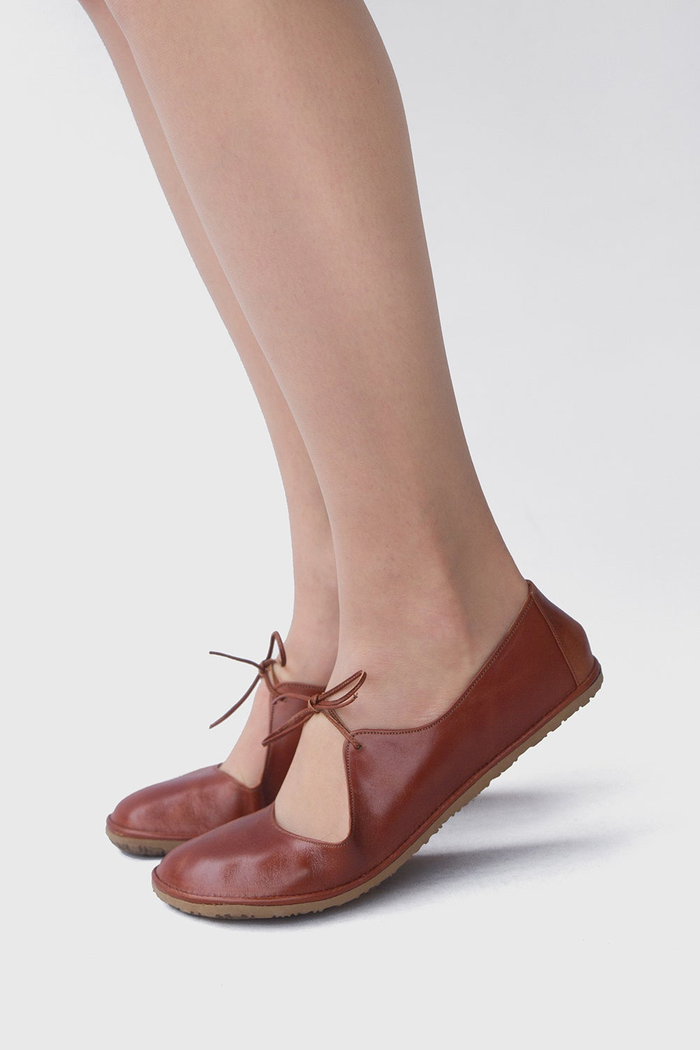 Image of Passion ballet flats in Warm Brown