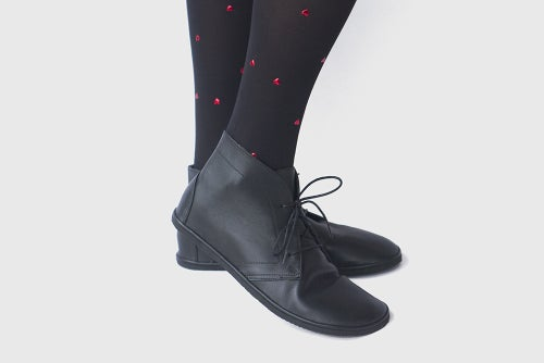 Image of Leona Boots in Matte Black