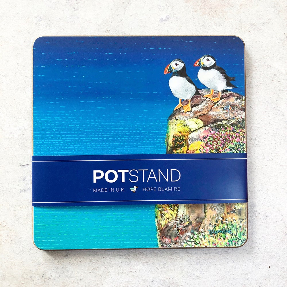 Image of Puffin potstand