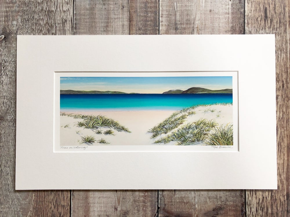 Image of Vatersay small panorama giclée print