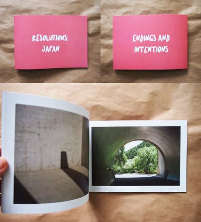 Image of Resolutions: Japan, zine