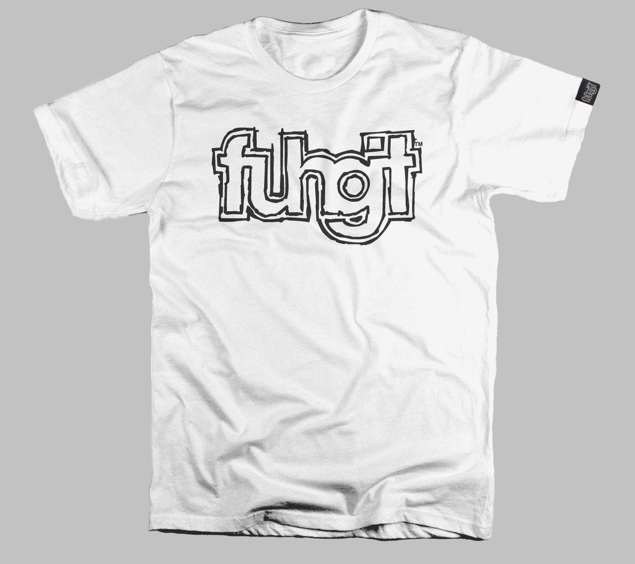Image of fuhgit™ sketch logo T shirt