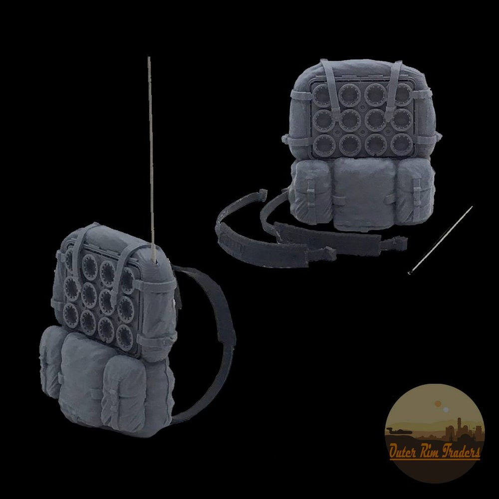 Image of Holy City Imperial Backpack designed by Sam Roe