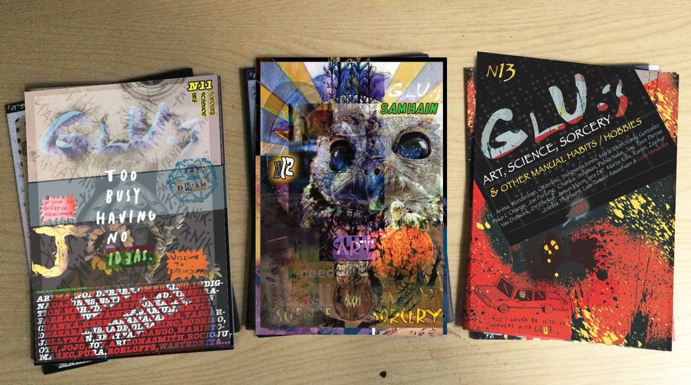 Image of GLU.3 ZINES/POSTERS PACK 1