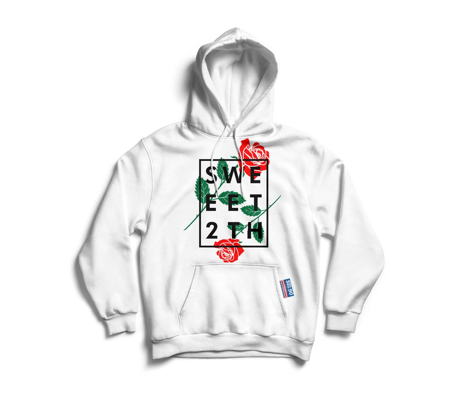 Image of STA ROSA INGRID HOODY WHITE