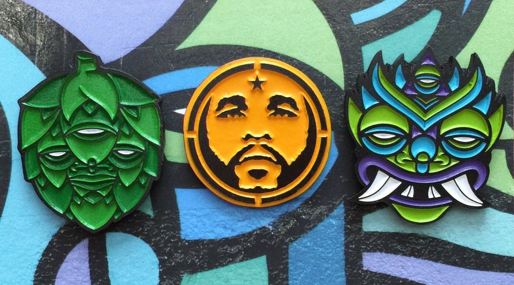 Image of Star27 Limited Edition Enamel Pin Set