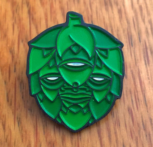 Image of Lúpulo Enamel Pin
