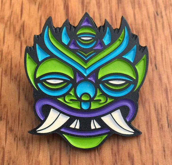 Image of Chinesca Enamel Pin