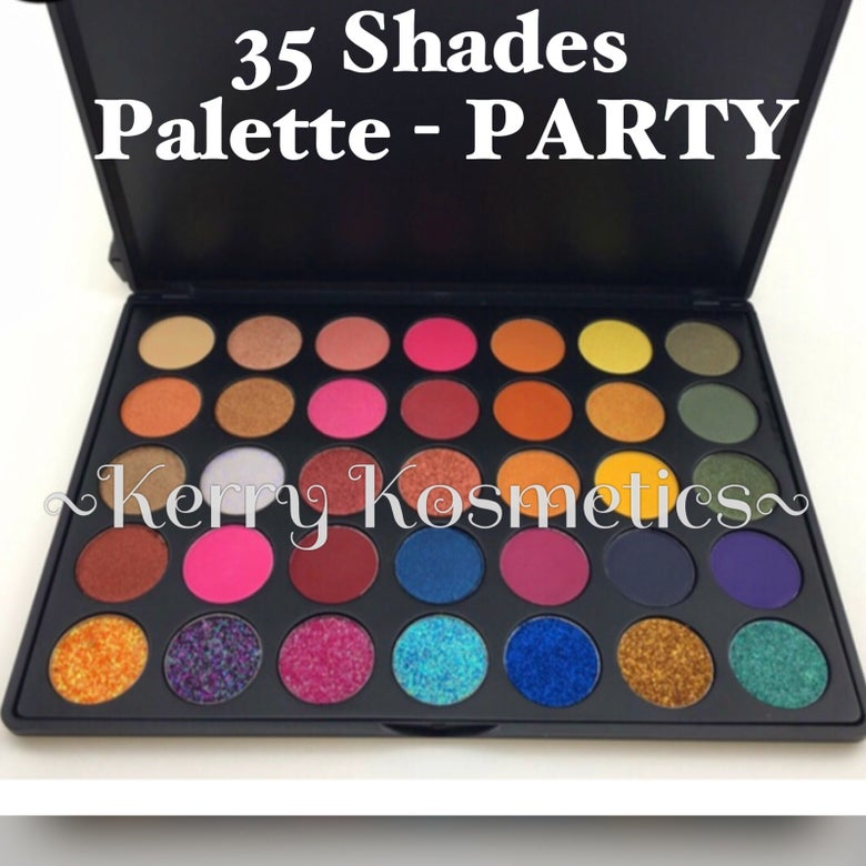 Image of 35 SHADE EYESHADOW PALETTE- PARTY