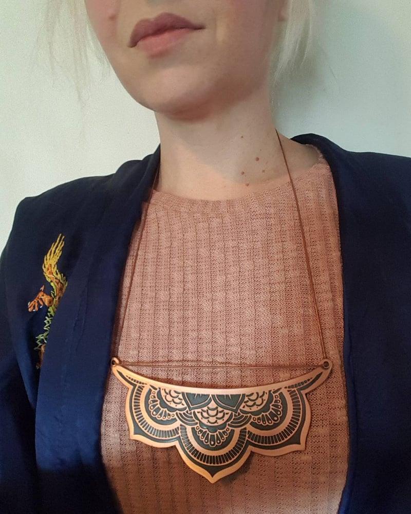 Image of Mandala Breastplate