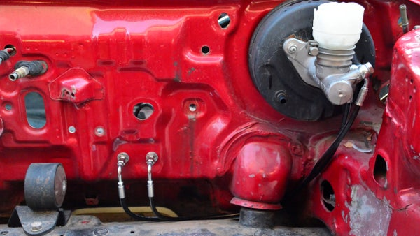 Image of EF Stock Master to Stock Prop Full Tuck Brake Line Kit