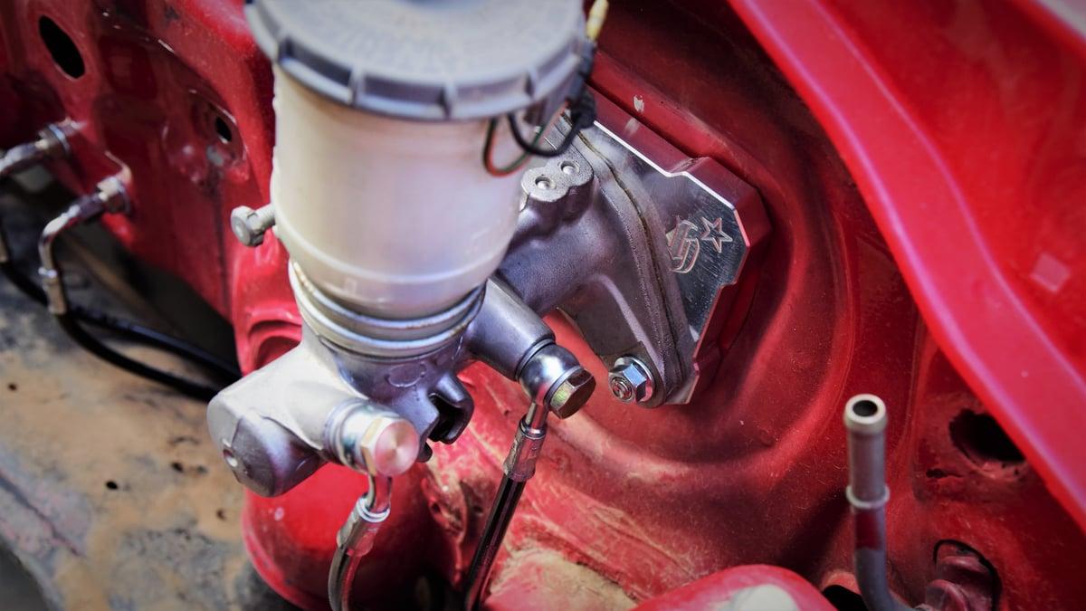 EF/EG Stock Style Master Brake Booster Delete Plate