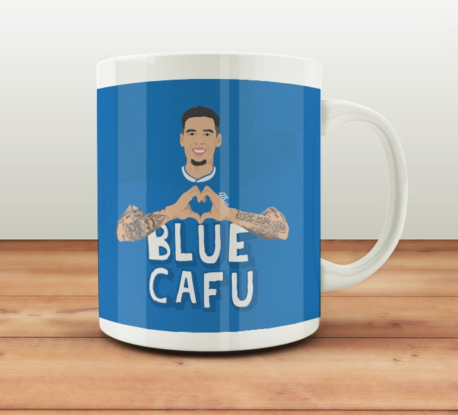 Image of Blue Cafu mug