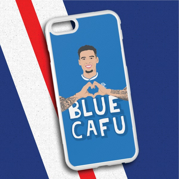 Image of Blue Cafu phone case