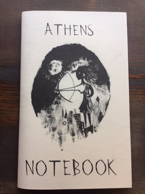 Image of ATHENS NOTEBOOK - Matt Longabucco