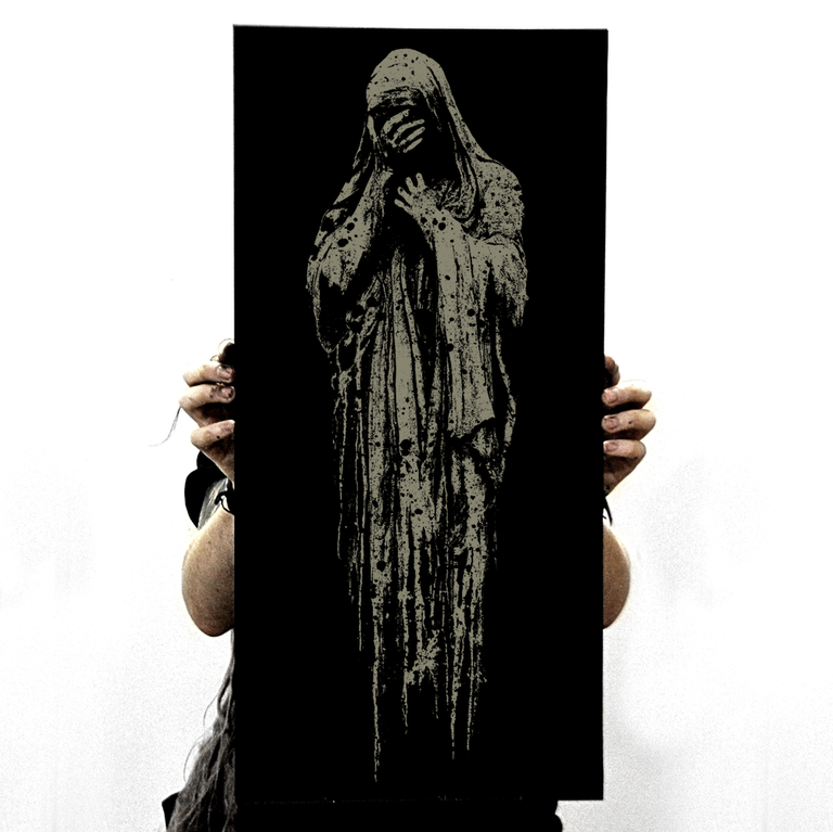 """Image of """"Misery"""" screen print"""