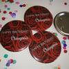 Chingona Birthday button