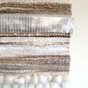 Image of 'Celeste' - 32 x 76cm - woven tapestry