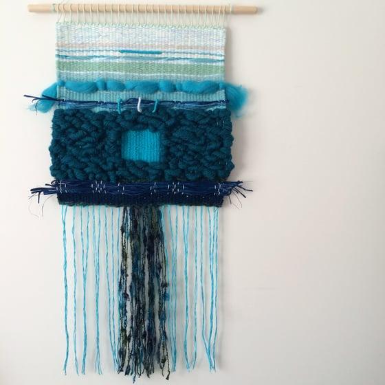 Image of 'Celandine' - 33x64cm - woven boho tapestry