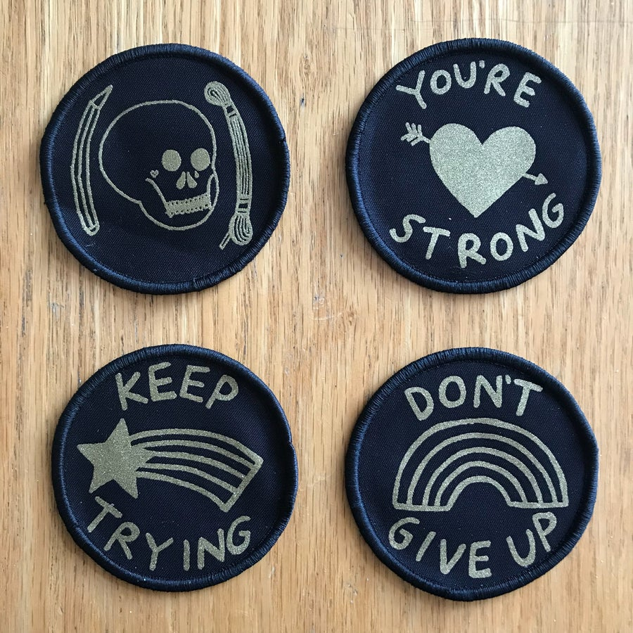 Image of Screen Print Patches