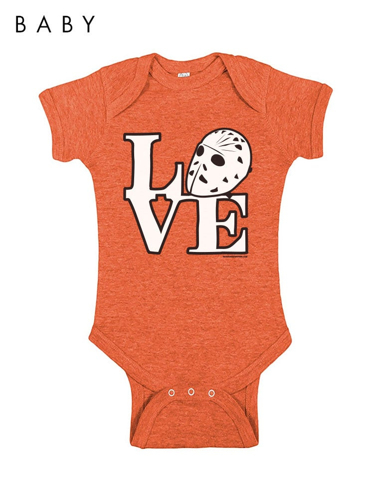 Image of Love Philly Hockey Infant Onesie