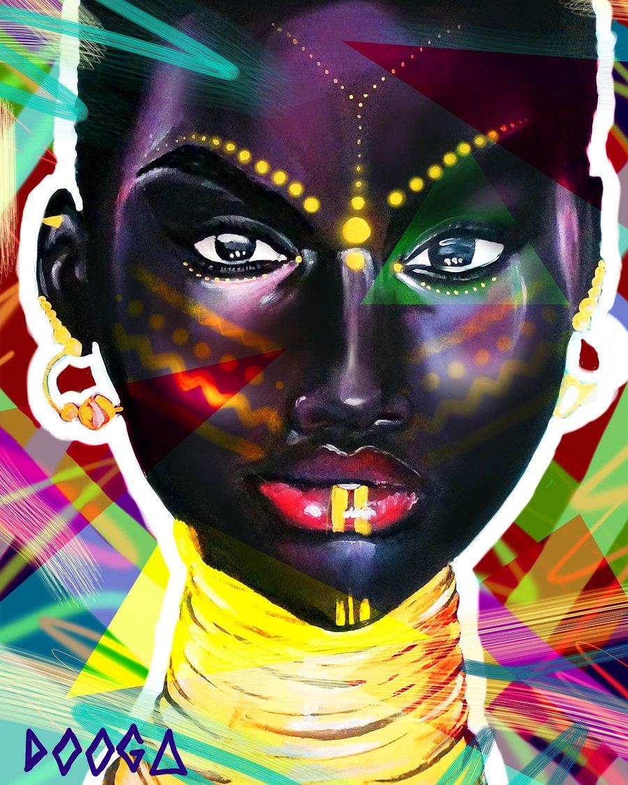 Image of Skin Deep remix - canvas print
