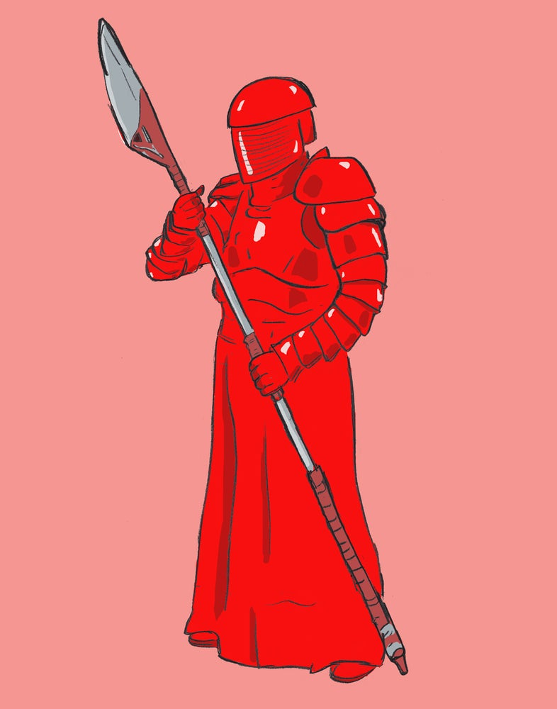 "Image of ""Very Red Guard"""