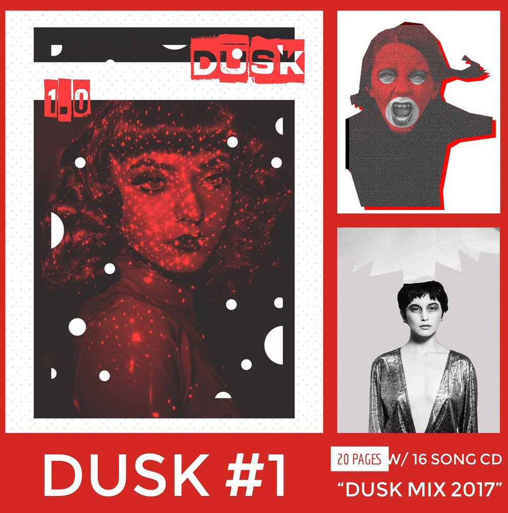 """Image of """"Dusk"""" zine #1"""