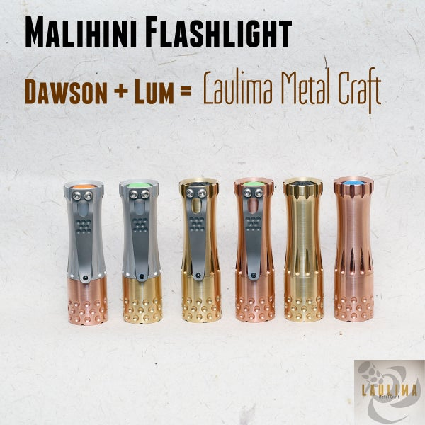 Image of Malihini Flashlight - SUS Winner Purchase