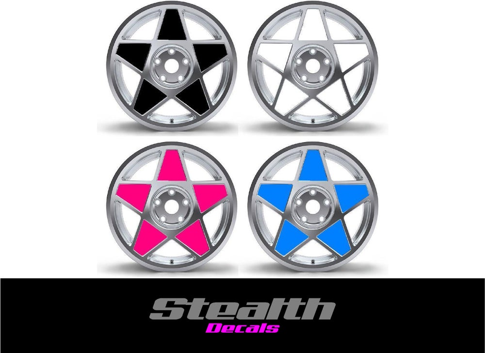 Image of 3SDM 0.05 Wheel inserts stickers 18""