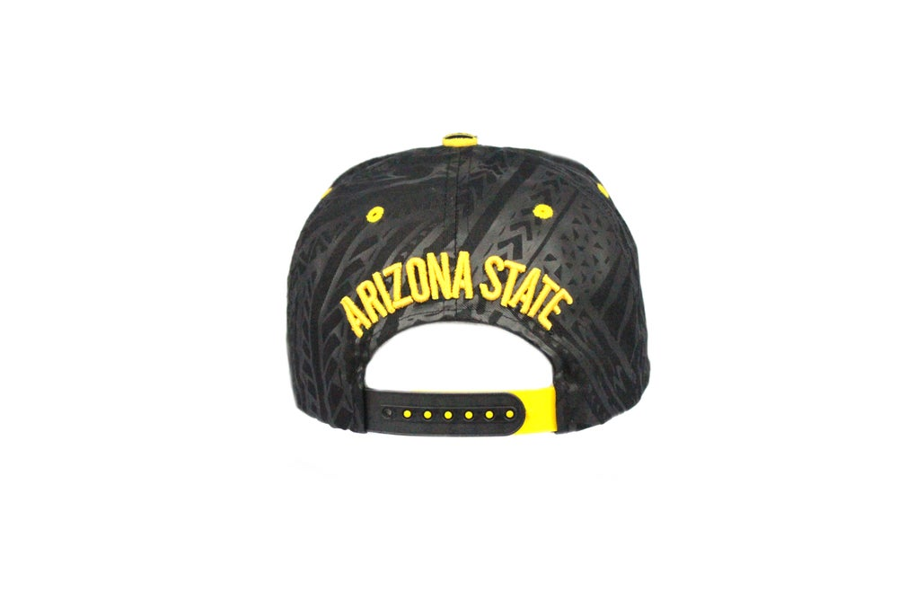 Image of ASU - black snapback