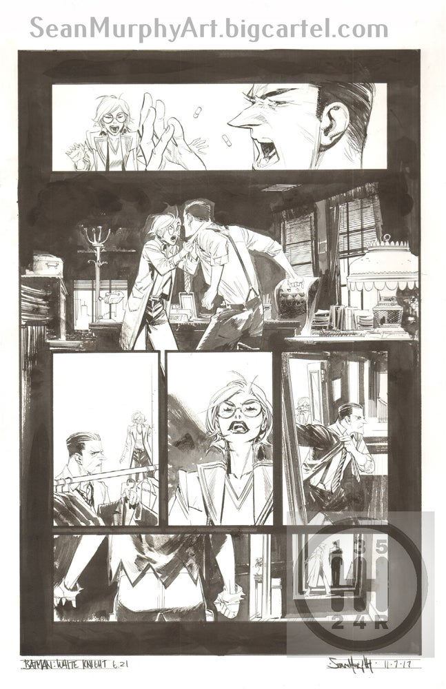 Image of Batman: White Knight #6, page 21