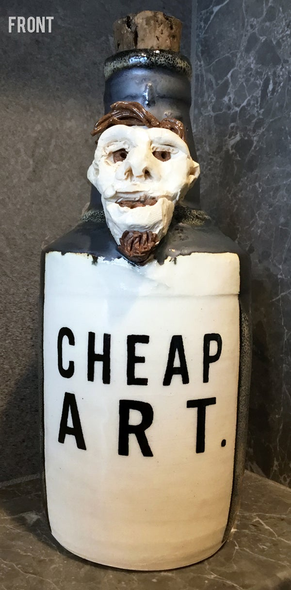 Image of Ceramic Bottle 13 - Cheap Art