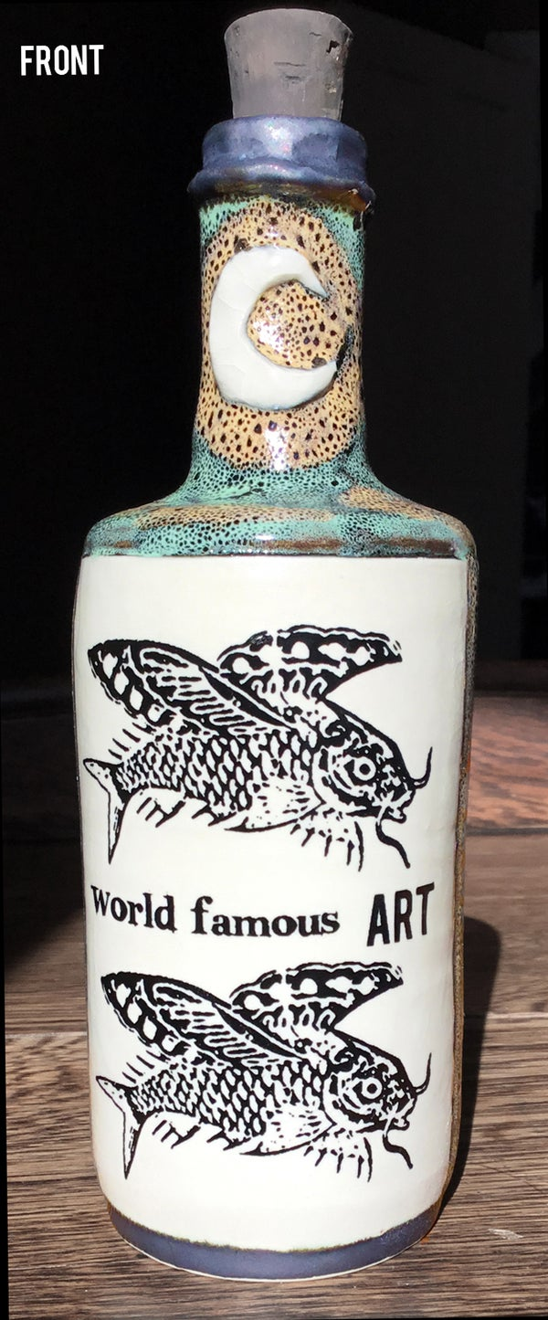 Image of Ceramic Bottle 7 - World Famous Art