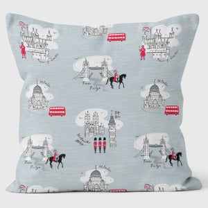 Alice Tait London Retro Pattern Cushion - Alice Tait Shop